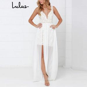 Lulu's - 'Make Way for Wonderful' Lace Maxi Dress